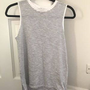 NWOT Zara tank stripes small